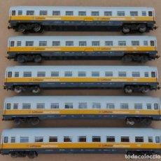 Trenes Escala: 5 COCHES DE VIAJEROS LUFTHANSA. Lote 215640922