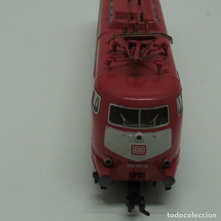 Trenes Escala: LOTE MAQUINA VAGONES Y TRANSFORMADOR FLEISCHMANN H0 . - Foto 10 - 217900707