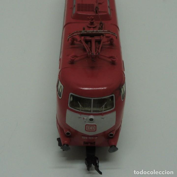 Trenes Escala: LOTE MAQUINA VAGONES Y TRANSFORMADOR FLEISCHMANN H0 . - Foto 12 - 217900707