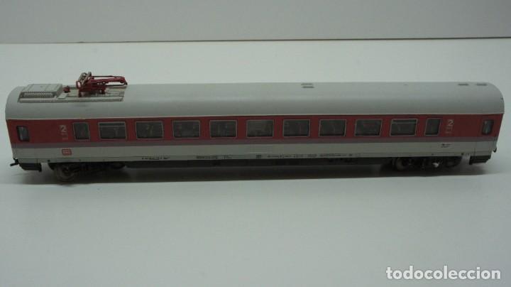 Trenes Escala: LOTE MAQUINA VAGONES Y TRANSFORMADOR FLEISCHMANN H0 . - Foto 17 - 217900707