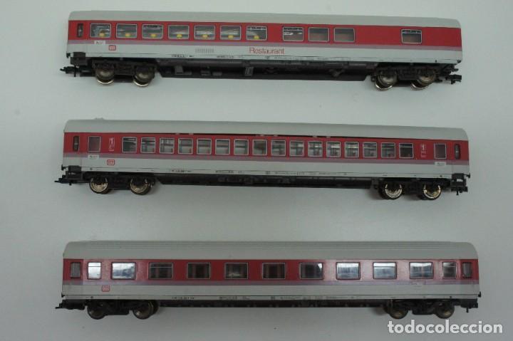 Trenes Escala: LOTE MAQUINA VAGONES Y TRANSFORMADOR FLEISCHMANN H0 . - Foto 21 - 217900707