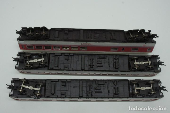 Trenes Escala: LOTE MAQUINA VAGONES Y TRANSFORMADOR FLEISCHMANN H0 . - Foto 24 - 217900707