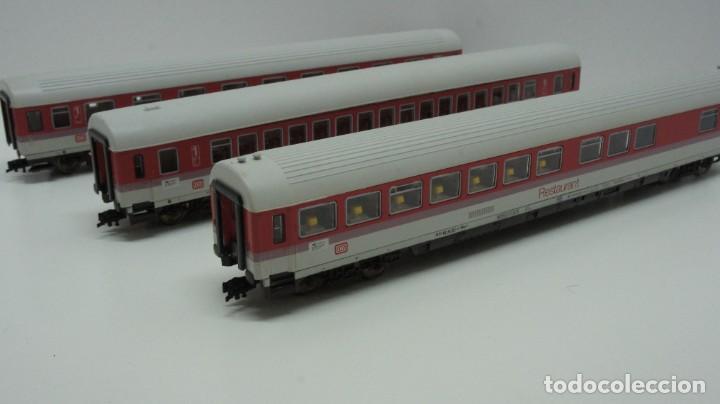 Trenes Escala: LOTE MAQUINA VAGONES Y TRANSFORMADOR FLEISCHMANN H0 . - Foto 25 - 217900707