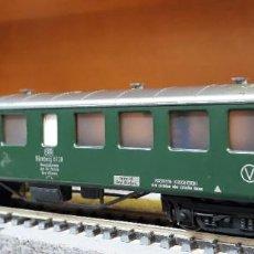 Trenes Escala: FLEISCHMANN H0 COCHE DE VIAJEROS NÜRNBERG 6720, DE LA DB, REFERENCIA 5137.. Lote 218708290