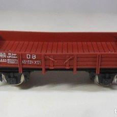 Trenes Escala: H0 - FLEISCHMANN - VAGON ABIERTO DE BORDE BAJO - METALICO. Lote 219266795