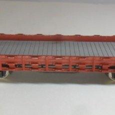 Trenes Escala: H0 - FLEISCHMANN - VAGON ABIERTO DE BORDE BAJO ** METALICO. Lote 219282451