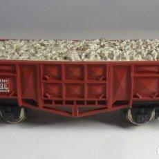 Trenes Escala: H0 - FLEISCHMANN - VAGON DE BORDE ALTO CON CARGA. Lote 219433861