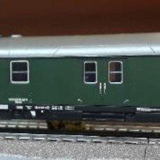 Trenes Escala: FLEISCHMANN H0 COCHE-FURGÓN POSTAL, DE LA DB, REFERENCIA 5102.. Lote 220484805