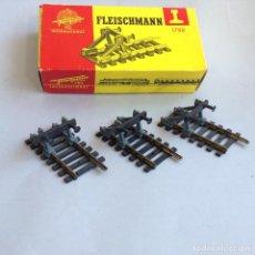 Trenes Escala: FLEISCHMANN LOTE TOPES DE FIN DE VÍA TOPERAS. Lote 220648470