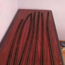 Trenes Escala: FLEISCHMANN 7 VIAS FREXIBLES. Lote 216863147