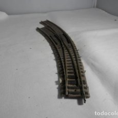 Trenes Escala: DESVIO EN CURVA ESCALA HO DE FLEISCHMANN. Lote 220983563