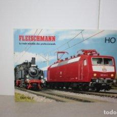 Trenes Escala: ANTIGUO CATÁLOGO FLEISCHMANN DE 1991. Lote 221335600