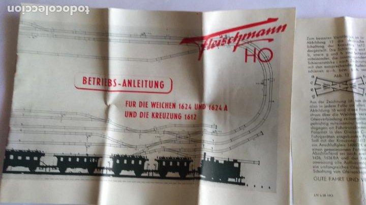 Trenes Escala: FLEISCHMANN H0 ,LOTE DE FOLLETOS, INSTRUCCIONES - Foto 2 - 221463973