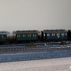 Trenes Escala: FLEISCHMANN H0 PEQUEÑA COMPOSICIÓN DE LA DRG, REFERENCIAS 5051, 5057, 5058 Y 5059.. Lote 221749951