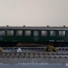 Trenes Escala: FLEISCHMANN H0 COCHE DE VIAJEROS NÜRNBERG 6720, DE LA DB, REFERENCIA 5137.. Lote 221794340