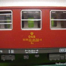 Trenes Escala: FLEISCHMANN CON INT. DE LA DSB. Lote 222495346