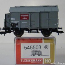 Trenes Escala: VAGON FRUDE CON GARITA DE LA SBB REF:545503 ESCALA H0. Lote 222584582