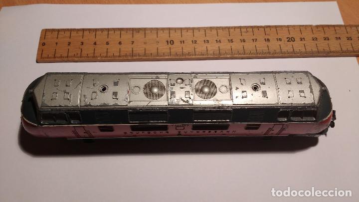Trenes Escala: LOCOMOTORA ELECTRICA ALEMANA FLEISCHMANN ESCALA 1:87 HO - Foto 2 - 224520583