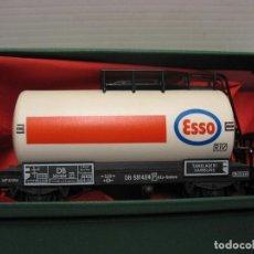 Trenes Escala: VAGON FLEISCHMANN ESSO CONTINUA HO. Lote 225184996