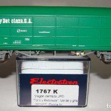 Trenes Escala: ELECTROTREN VAGON CERRADO JPD RENFE REF:1767 ESCALA H0. Lote 225952975