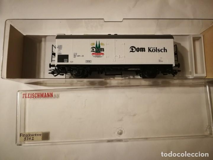 FLEISCHMANN VAGÓN CERVECERO DOM KÖLSCH 5342 K (Juguetes - Trenes Escala H0 - Fleischmann H0)