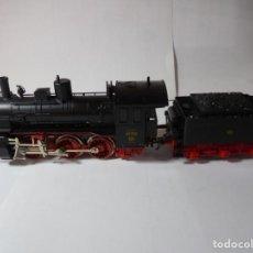 Trenes Escala: MAGNIFICA LOCOMOTORA FLEISCHMANN ESCALA H0,REFERENCIA 4124. Lote 226808655