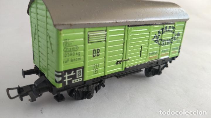 Trenes Escala: FLEISCHMANN H0 VAGN CARGA, METAL VÁLIDO IBERTREN,ROCO, ETC - Foto 2 - 227671470