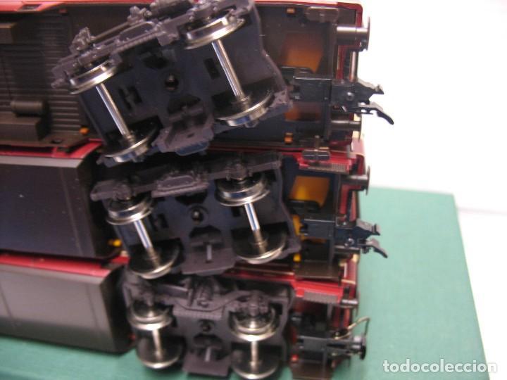 Trenes Escala: tres vagones fleischmann HO continua - Foto 3 - 230619120
