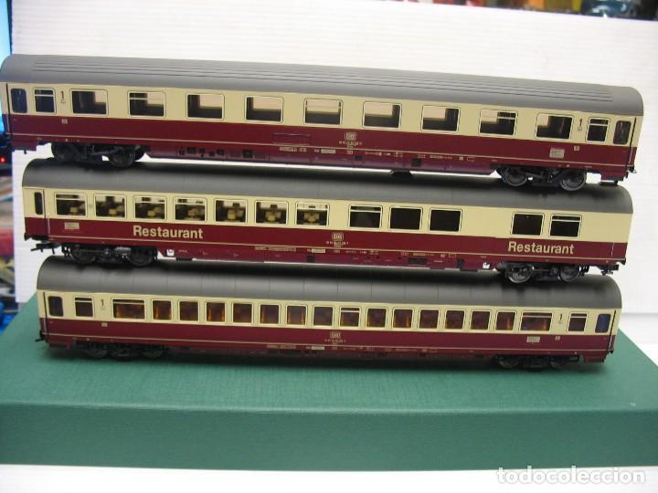 Trenes Escala: tres vagones fleischmann HO continua - Foto 8 - 230619120