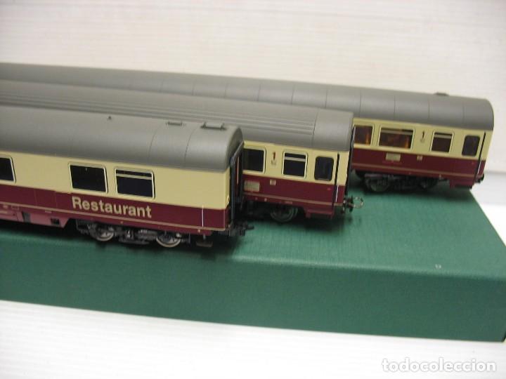 Trenes Escala: tres vagones fleischmann HO continua - Foto 9 - 230619120