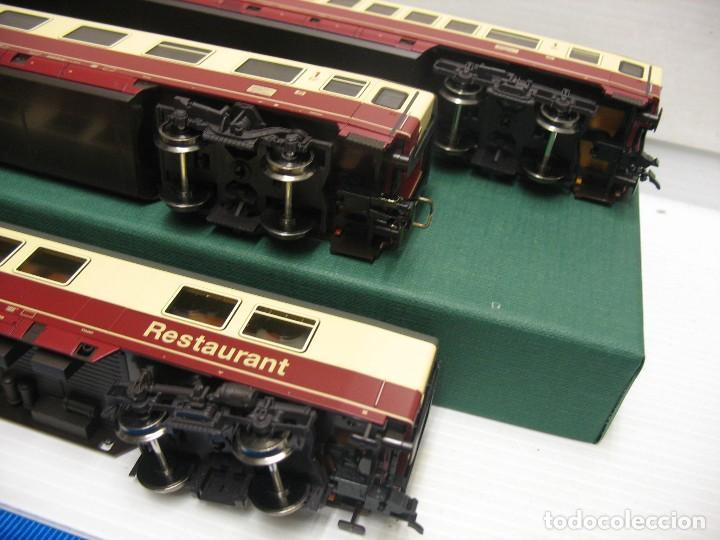 Trenes Escala: tres vagones fleischmann HO continua - Foto 10 - 230619120