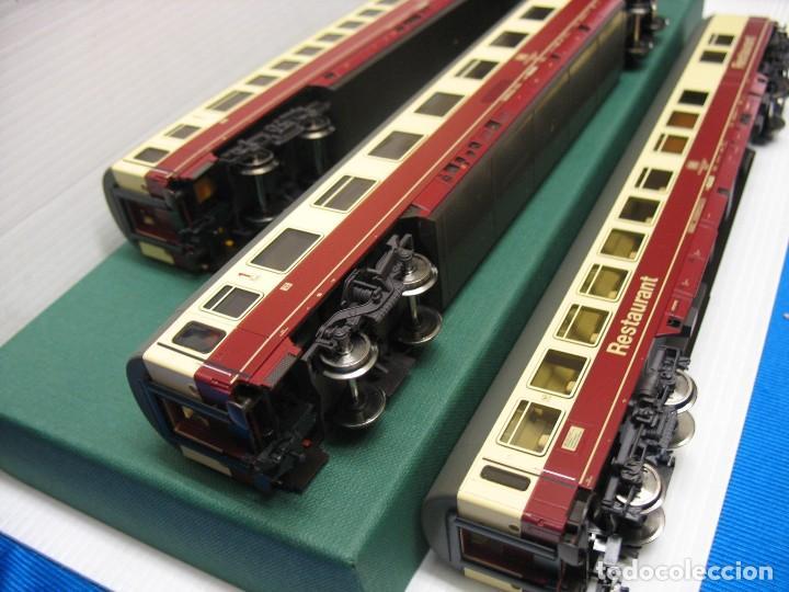 Trenes Escala: tres vagones fleischmann HO continua - Foto 11 - 230619120