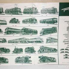 Trenes Escala: FOLLETO FLEISCHMANN DEL AÑO 1963. Lote 234040195