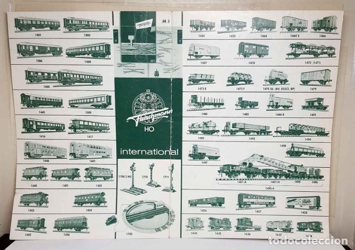 Trenes Escala: Folleto FLEISCHMANN del año 1963 - Foto 2 - 234040195