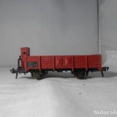 Trenes Escala: VAGÓN BORDE BAJO ESCALA HO DE FLEISCHMANN. Lote 235133825