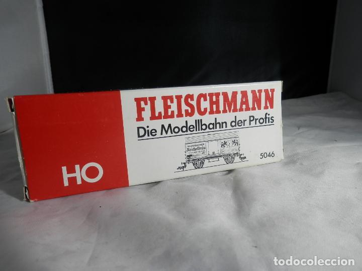 VAGÓN CERRADO ESCALA HO DE FLEISCHMANN (Juguetes - Trenes Escala H0 - Fleischmann H0)