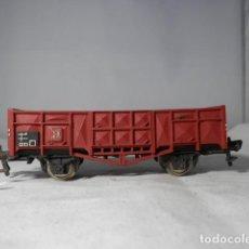 Trenes Escala: VAGÓN BORDE ALTO ESCALA HO DE FLEISCHMANN. Lote 235847500