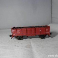 Trenes Escala: VAGÓN BORDE ALTO ESCALA HO DE FLEISCHMANN. Lote 235848065