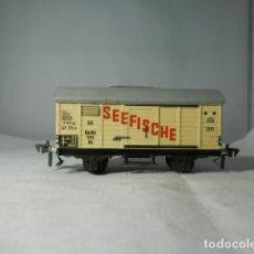 Trenes Escala: VAGÓN CERRADO ESCALA HO DE FLEISCHMANN. Lote 235850210