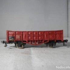 Trenes Escala: VAGÓN BORDE ALTO ESCALA HO DE FLEISCHMANN. Lote 235932985