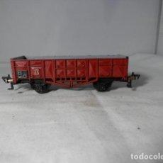Trenes Escala: VAGÓN BORDE ALTO ESCALA HO DE FLEISCHMANN. Lote 235936770