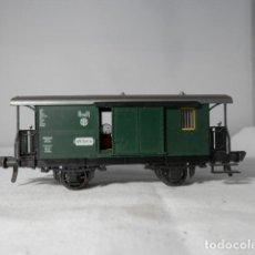 Trenes Escala: VAGÓN FURGON ESCALA HO DE FLEISCHMANN. Lote 235937475