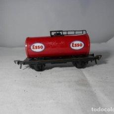 Trenes Escala: VAGÓN CISTERNA ESCALA HO DE FLEISCHMANN. Lote 235937935