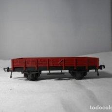 Trenes Escala: VAGÓN BORDE BAJO ESCALA HO DE FLEISCHMANN. Lote 236118445