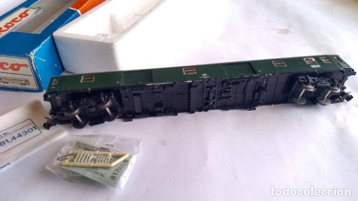 Trenes Escala: FLEISCHMANN H0, VAGÓN FURGÓN DE EQUIPAJES. EN CAJA DE ROCO - Foto 4 - 236983450