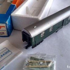 Trenes Escala: FLEISCHMANN H0, VAGÓN FURGÓN DE EQUIPAJES. EN CAJA DE ROCO. Lote 236983450