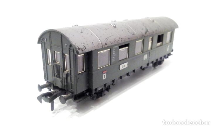 Trenes Escala: JIFFY VENDE PRECIOSO CONJUNTO DE 4 VAGONES FLEISCHMANN H0. VER FOTOS Y DESCRIPCIÓN. ADMITO OFERTAS. - Foto 3 - 238028315