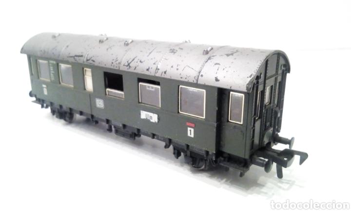 Trenes Escala: JIFFY VENDE PRECIOSO CONJUNTO DE 4 VAGONES FLEISCHMANN H0. VER FOTOS Y DESCRIPCIÓN. ADMITO OFERTAS. - Foto 4 - 238028315