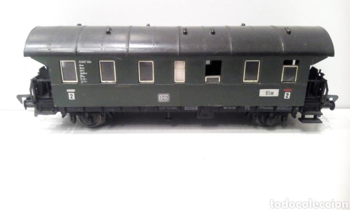 Trenes Escala: JIFFY VENDE PRECIOSO CONJUNTO DE 4 VAGONES FLEISCHMANN H0. VER FOTOS Y DESCRIPCIÓN. ADMITO OFERTAS. - Foto 9 - 238028315