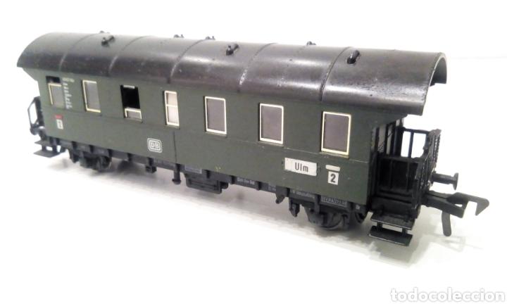 Trenes Escala: JIFFY VENDE PRECIOSO CONJUNTO DE 4 VAGONES FLEISCHMANN H0. VER FOTOS Y DESCRIPCIÓN. ADMITO OFERTAS. - Foto 11 - 238028315